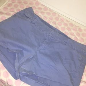 Blue size 12 old navy pixie shorts
